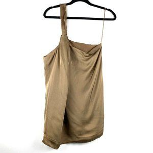 THEORY Briani Women's Silk One Shoulder Top